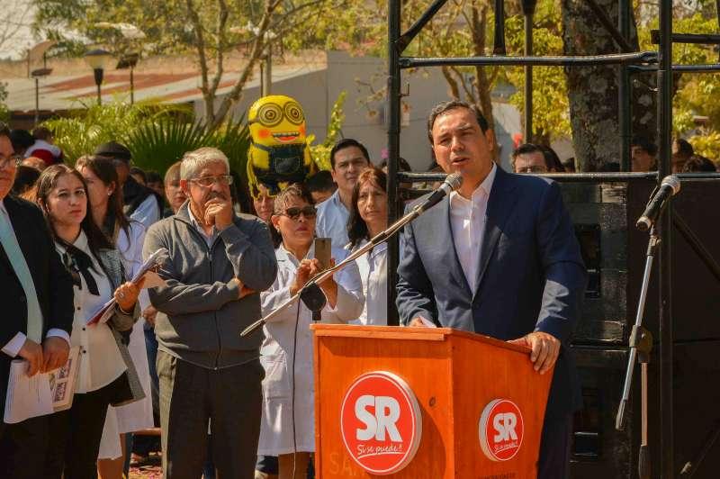 En Santa Rosa, el gobernador Valdés destacó el horizonte foresto industrial de la localidad