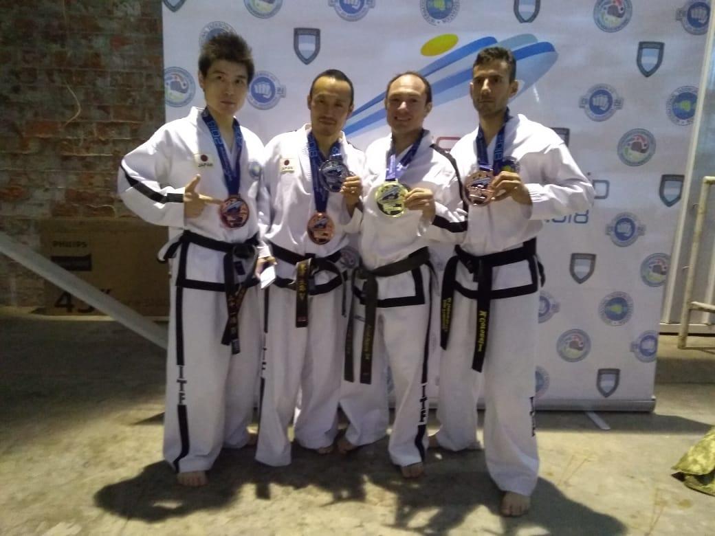 "El ""Duende"" Ibarra se consagró Tricampeón Mundial de Taekwondo ITF"