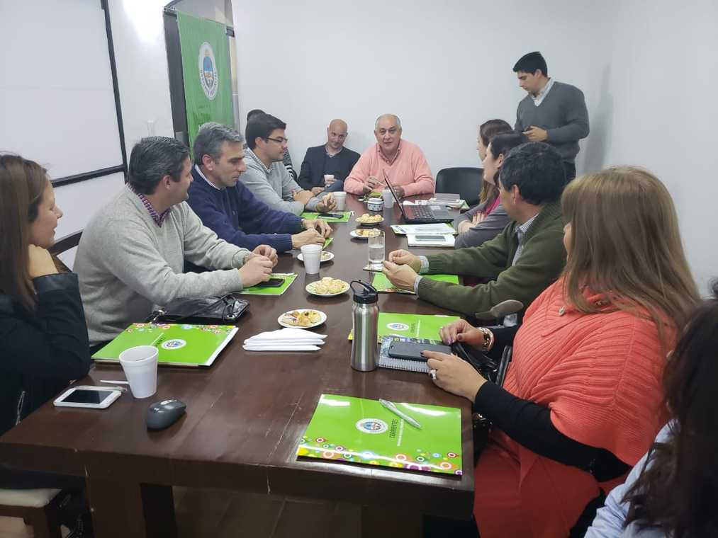 Quintana se reunió con autoridades de Nación y Provincia para la implementación de S.A.S