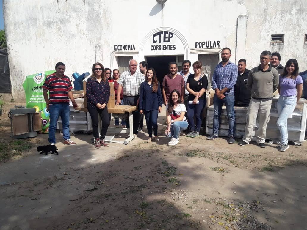 Organizaciones y Movimientos Sociales recibieron herramientas de trabajo