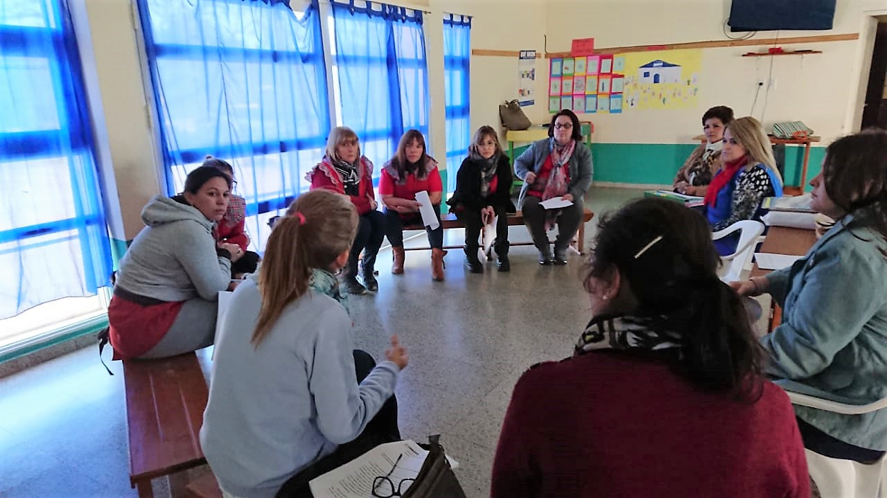 Asistencia Técnico Pedagógica en  La Cruz y Paso de los Libres