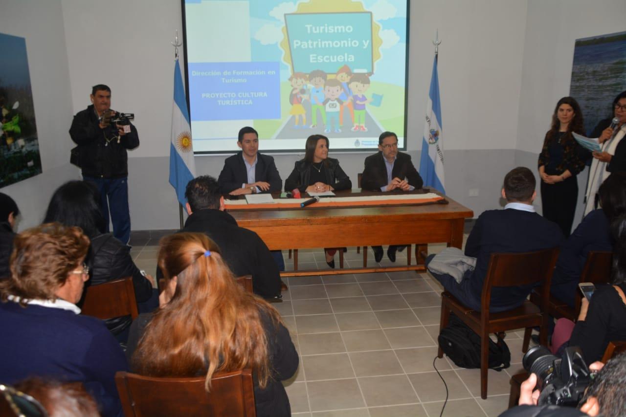 Se presentó el Proyecto de Sensibilización Turística Escolar y Taller de Formación de Sensibilizadores