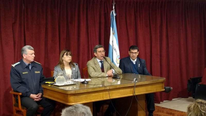 López Desimoni encabezó el inicio de clases de la Licenciatura en Seguridad Pública y Ciudadana