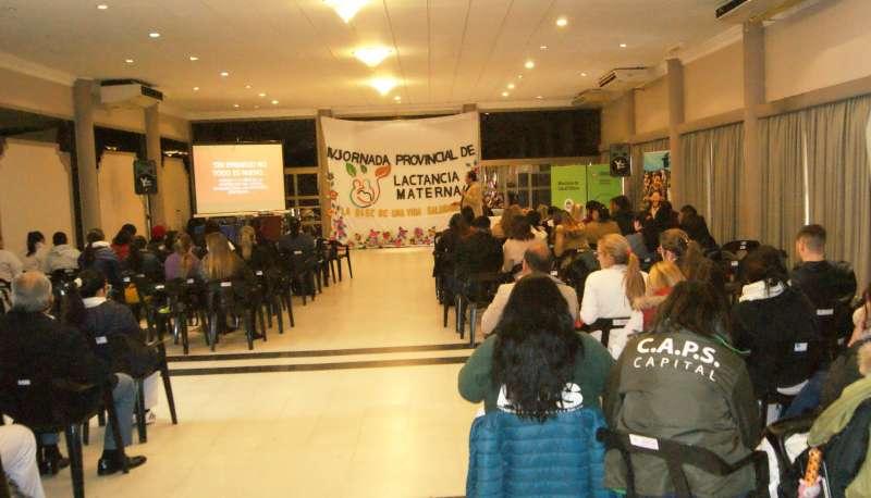 Salud Pública realizó la IV Jornada Provincial de Lactancia Materna