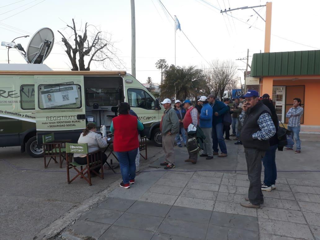 En Monte Caseros comenzó el Operativo Federal RENATRE 2018-2019