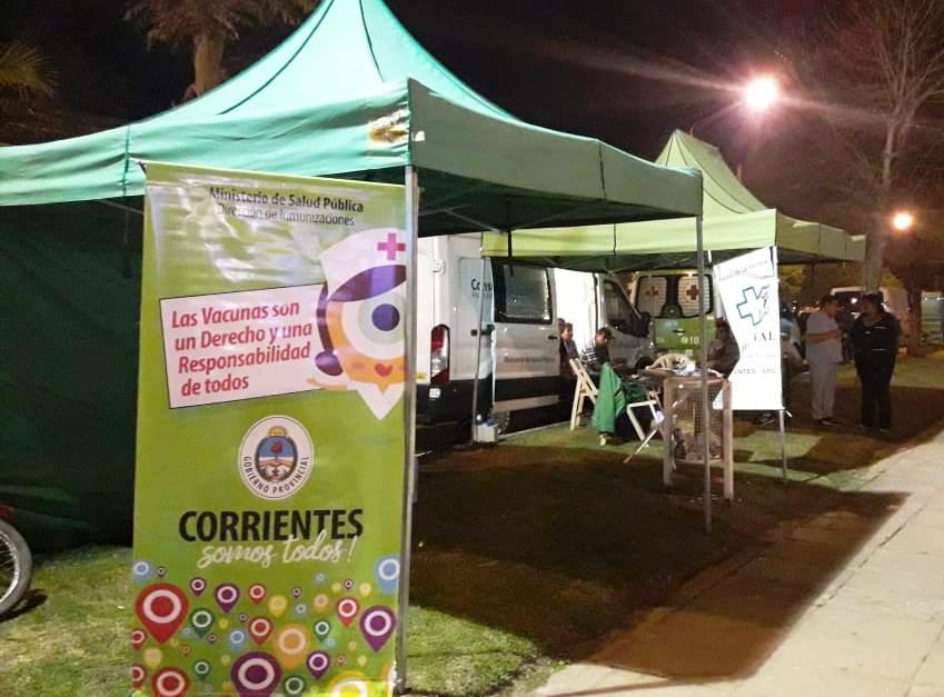 Salud Pública realizó tareas de prevención y testeos de VIH en Paso de la Patria