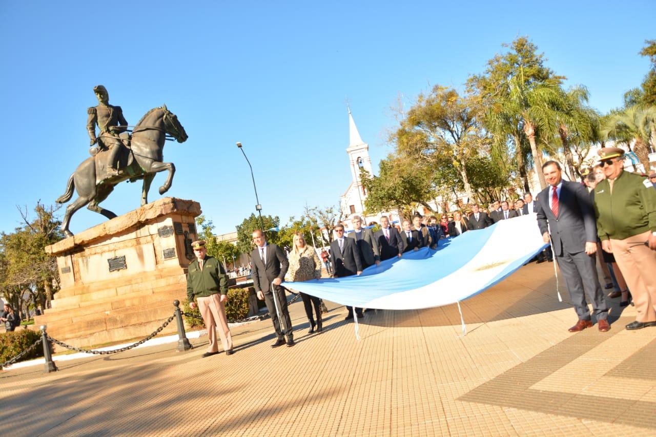Valdés instó a dejar de lado las diferencias partidarias para potenciar el desarrollo de la ciudad