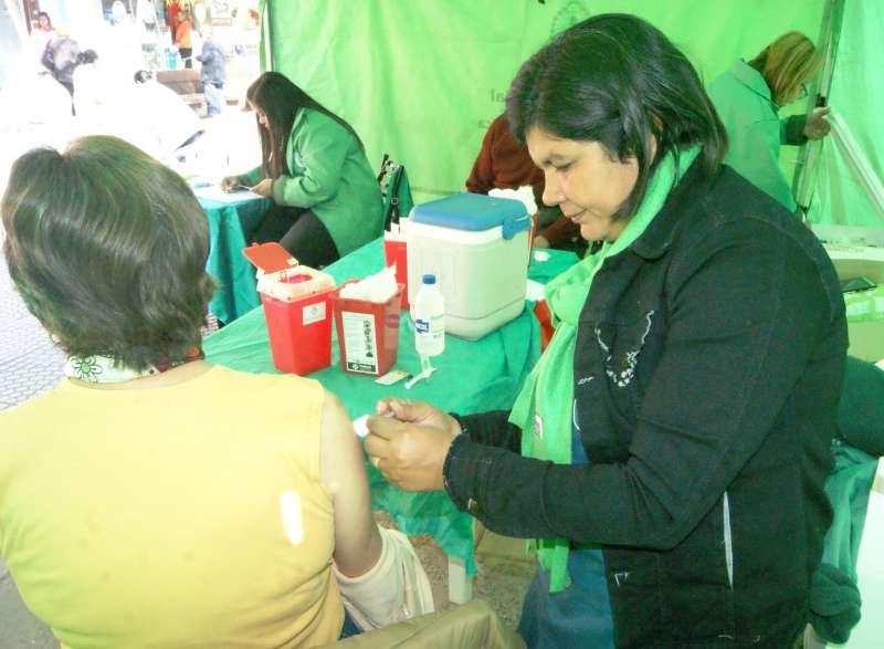 Salud Pública refuerza la campaña de vacunación antigripal