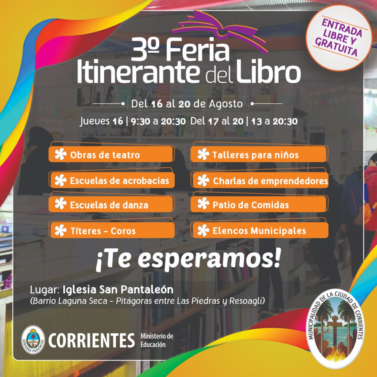 Con diversos atractivos, arranca la tercera edición de la Feria del Libro Itinerante