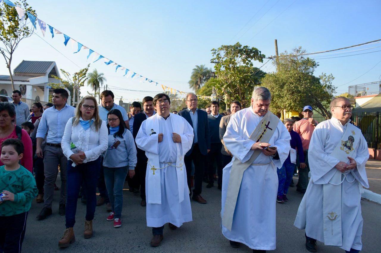 Tassano participó de los festejos por San Cayetano