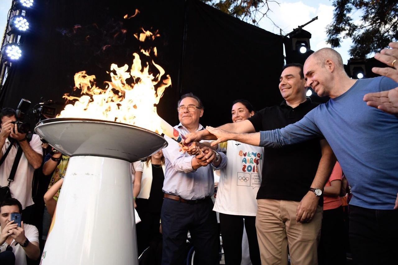 Corrientes vivió un día histórico en tras el paso de la antorcha olímpica
