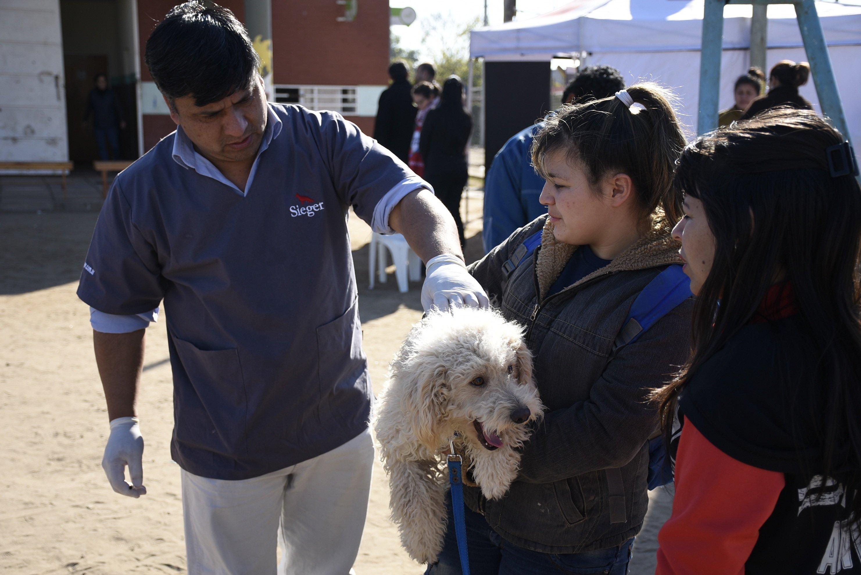 Operativo integrado de salud y zoonosis en los barrios Ongay y Paloma de la Paz