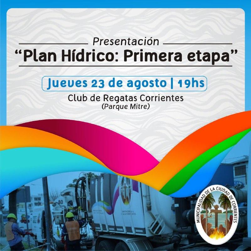 Tassano presentará los avances de la primera etapa del Plan Hídrico