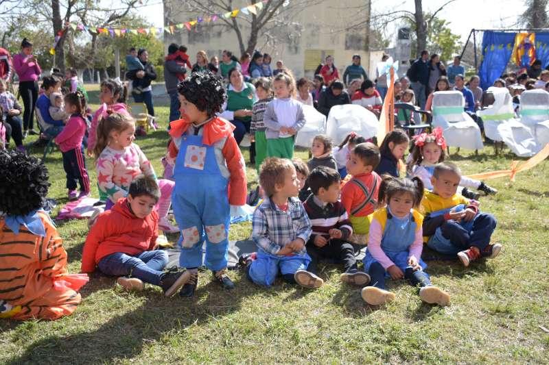 Continúan los festejos por el Mes del Niño en los CDI municipales