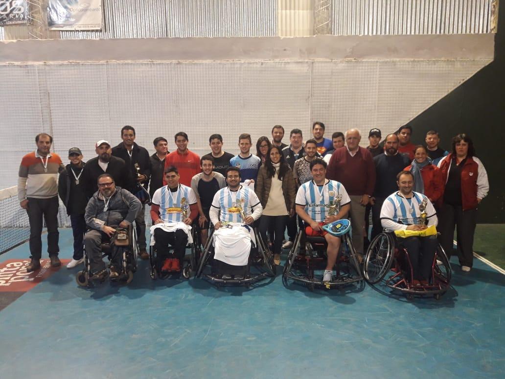 Diversión e inclusión: torneo de pádel en sillas de ruedas