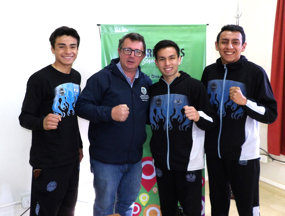 La Selección Correntina de Kickboxing Juvenil viaja al Mundial de Venecia