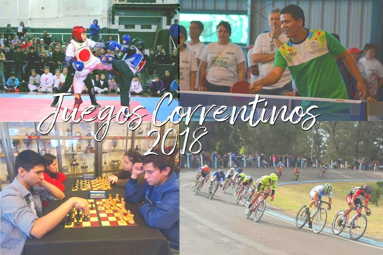 """""""Juegos Correntinos 2018"""": Inicia la primera fase de los Provinciales"""