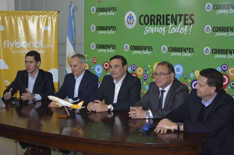 Valdés destacó que mayor conectividad significa progreso y crecimiento para los correntinos