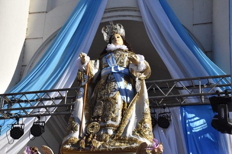 Tassano participó de los festejos en honor a la patrona de la Ciudad de Corrientes