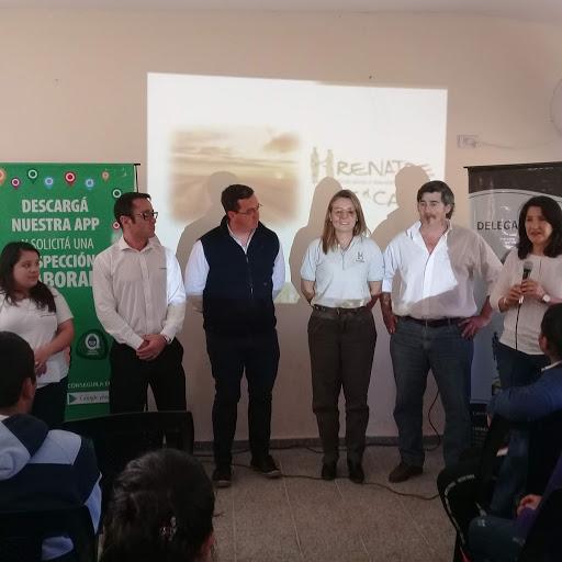 RENATRE Corrientes ofreció charla informativa a estudiantes de la Escuela Agrotécnica