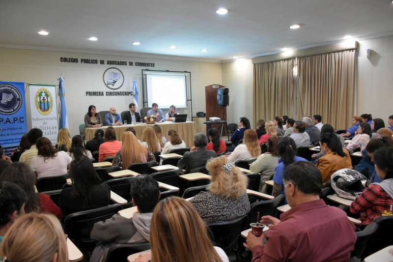 Agentes municipales participaron de un taller sobre consumo problemático y adicciones