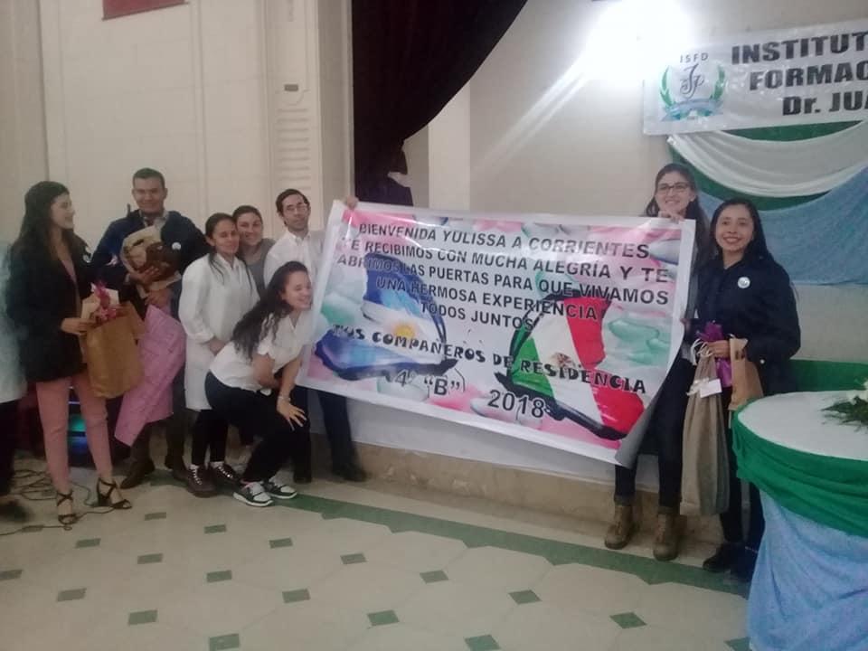 Institutos Superiores de Corrientes reciben a estudiantes de intercambio