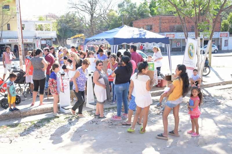 La Municipalidad acercó diversos servicios a vecinos del Trujillo