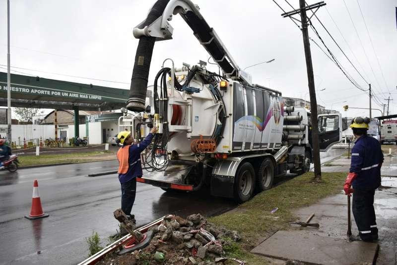 Plan Hídrico, continúa el programa de desobstrucción en distintos barrios