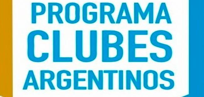 Modificaciones al programa Clubes Argentinos