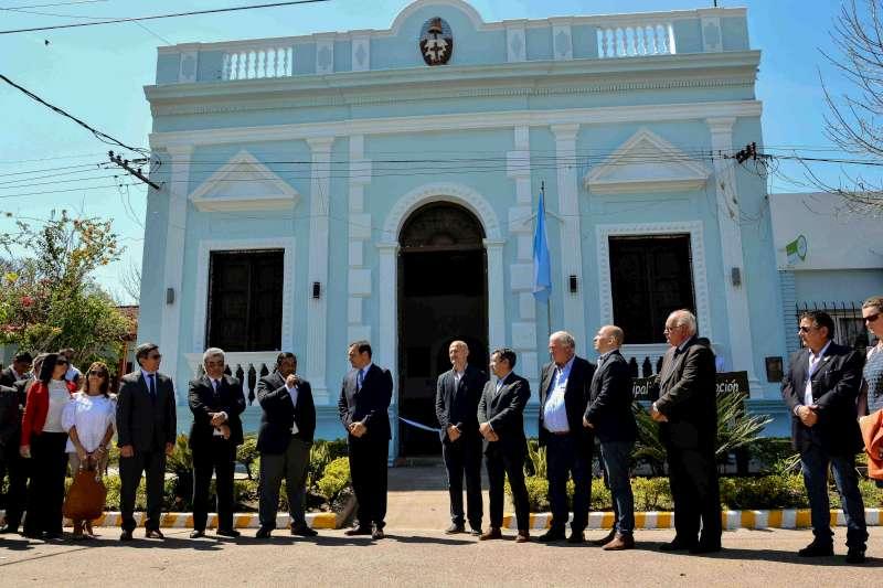 Valdés reafirmó la apuesta turística a Concepción en el 222ª aniversario de la localidad