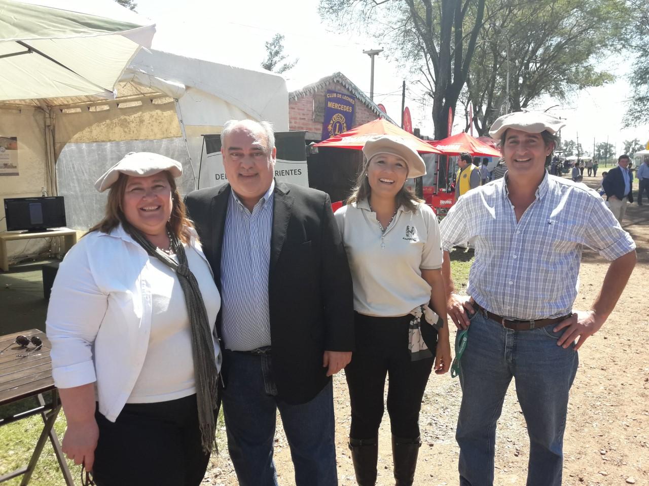 Exitosa participación en la expo rural de Mercedes