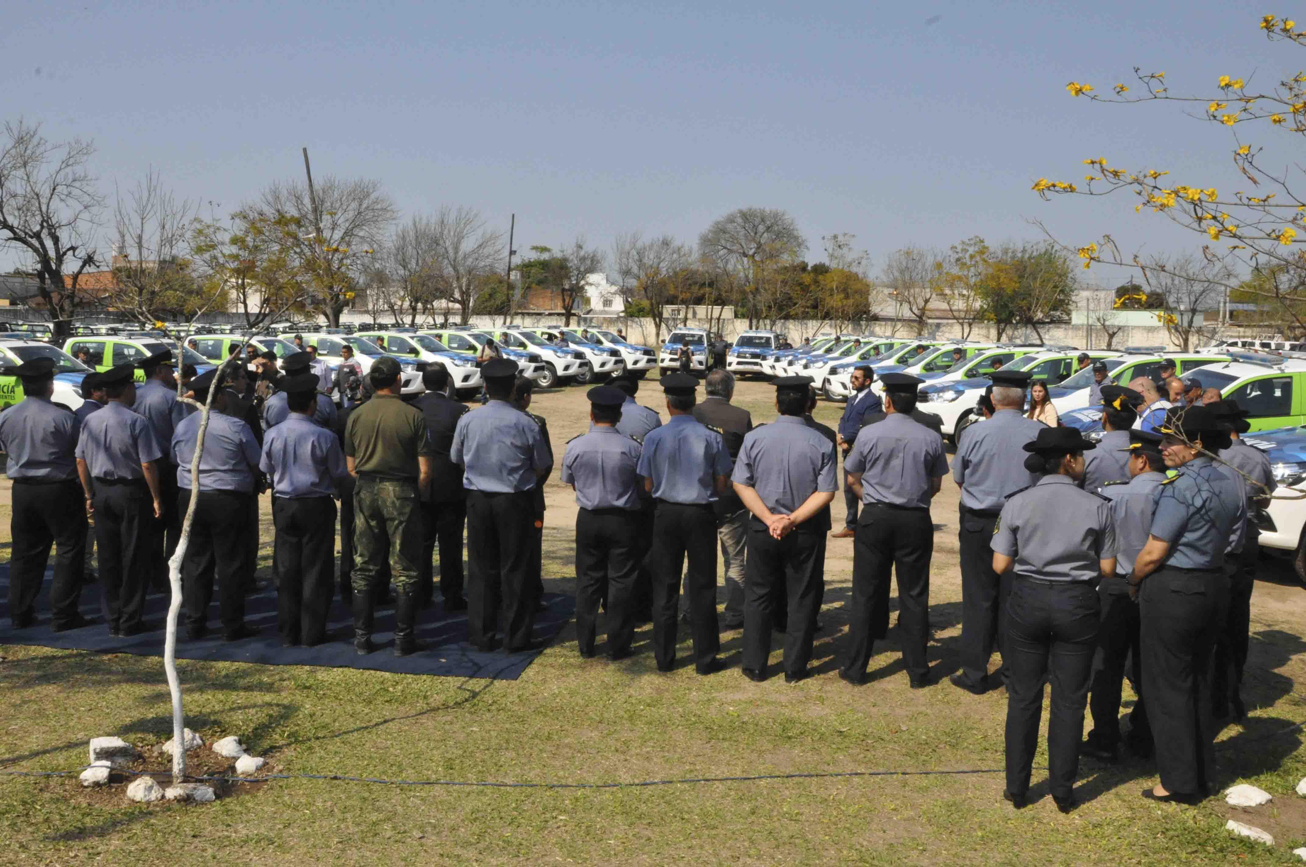 Desimoni instó a la institución policial a redoblar los esfuerzos para contrarrestar los casos de inseguridad