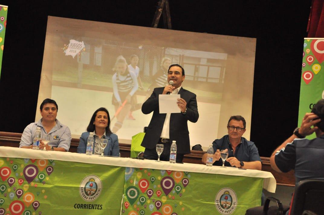 Valdés reafirmó el apoyo al deporte como apuesta al desarrollo personal y social