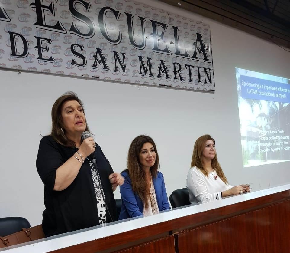 Reconocida especialista disertó sobre enfermedades inmunoprevenibles en Corrientes