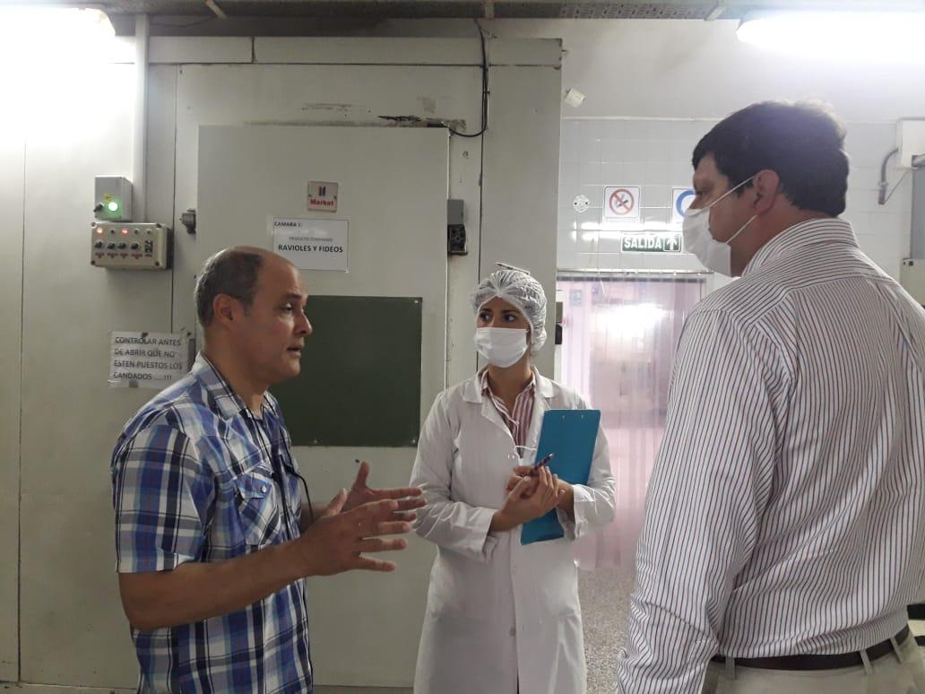 Destacan la inversión de una fábrica de pastas de Corrientes y su interés por innovar