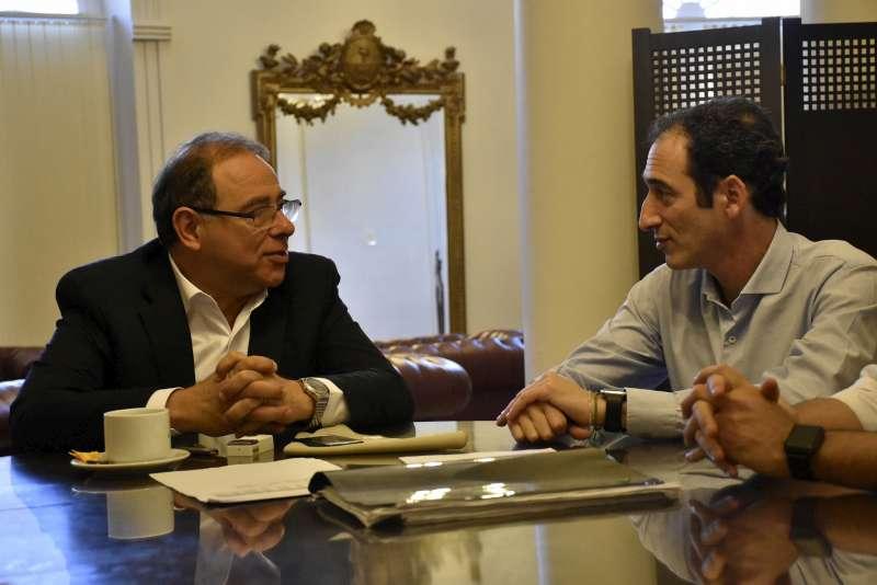 Tassano recibió al diputado de la Ciudad de Buenos Aires Leandro Halperín