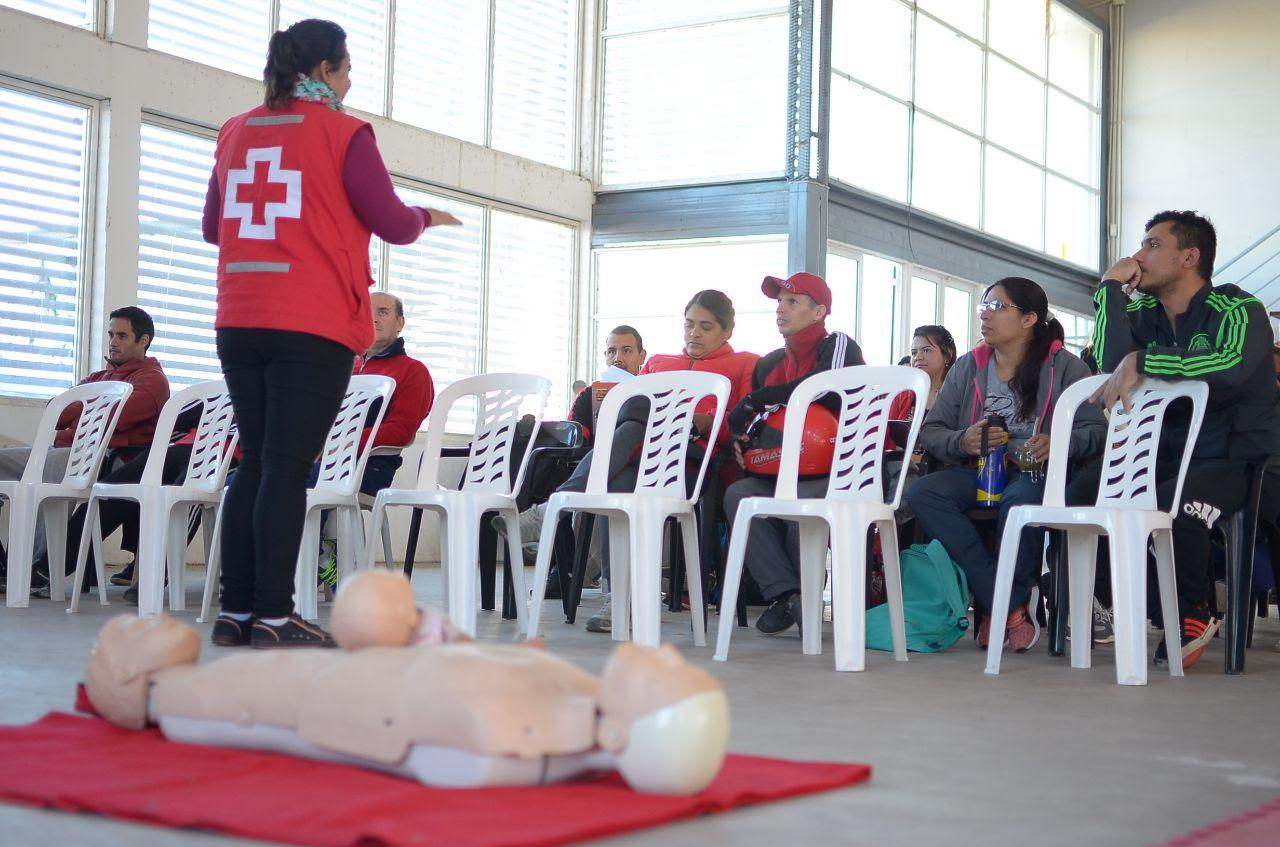 Trabajadores municipales se capacitaron en reanimación cardiopulmonar