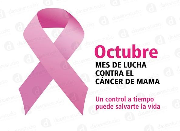 Octubre mes de lucha contra el cáncer de mama