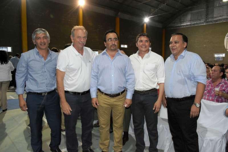 Funcionarios municipales, en el acto de asunción de la nueva conducción de la AOEM