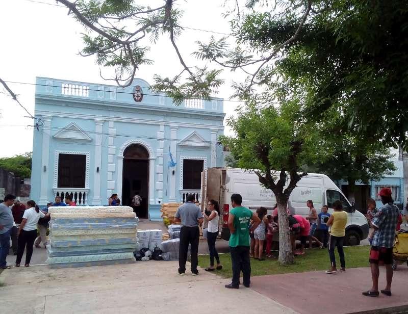 Desarrollo Social regreso con recursos a Concepción del Yaguareté Corá