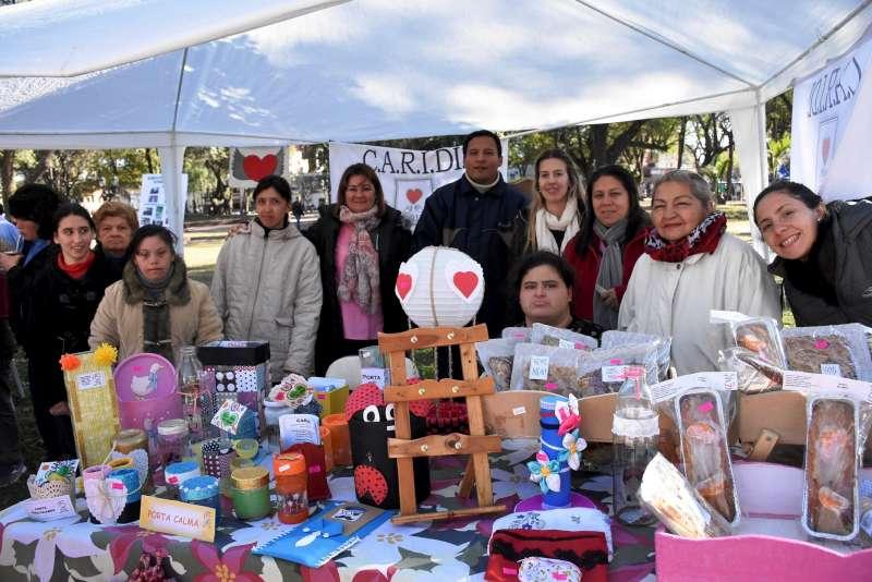 Este jueves: feria inclusiva productiva en la plaza Torrent