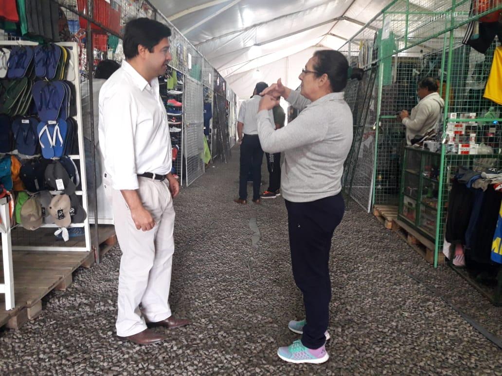 La Municipalidad finalizó la entrega de microcréditos a los puesteros de la rotonda