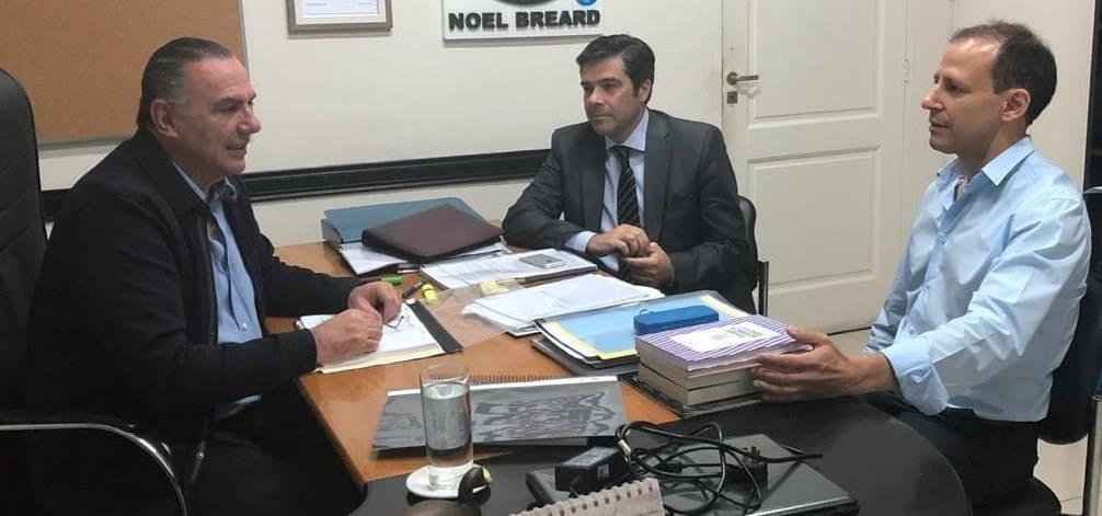 El Defensor del Pueblo se reunió con el Senador Noel Breard
