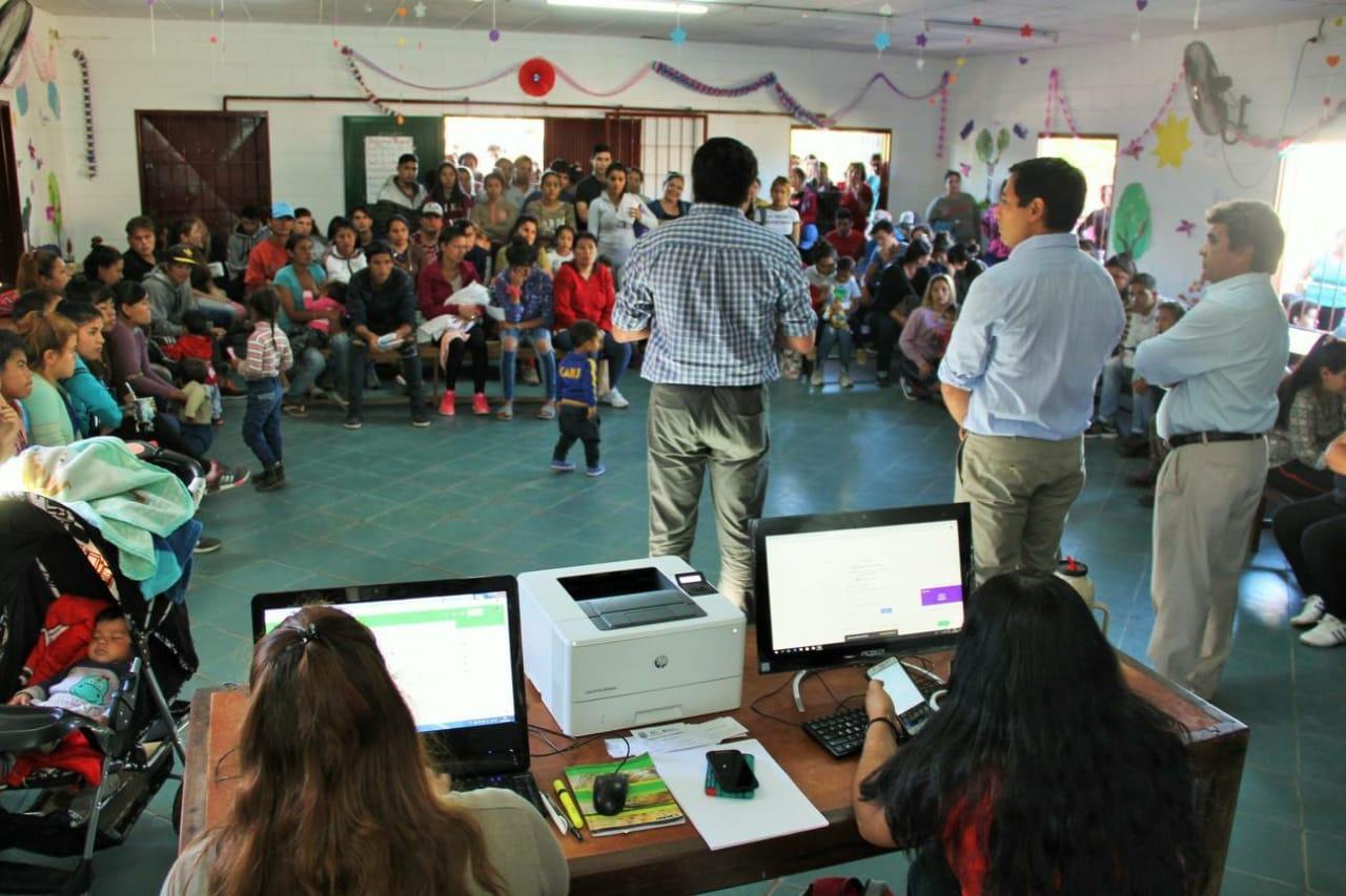 Gran convocatoria de jóvenes en el Barrio 3 de abril