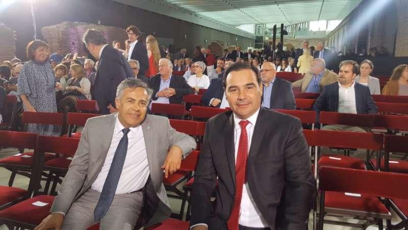 Valdés asistió al homenaje que el Gobierno nacional le realizó a Raúl Alfonsín