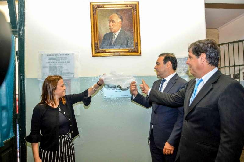 Valdés ratificó el compromiso con la educación pública y gratuita