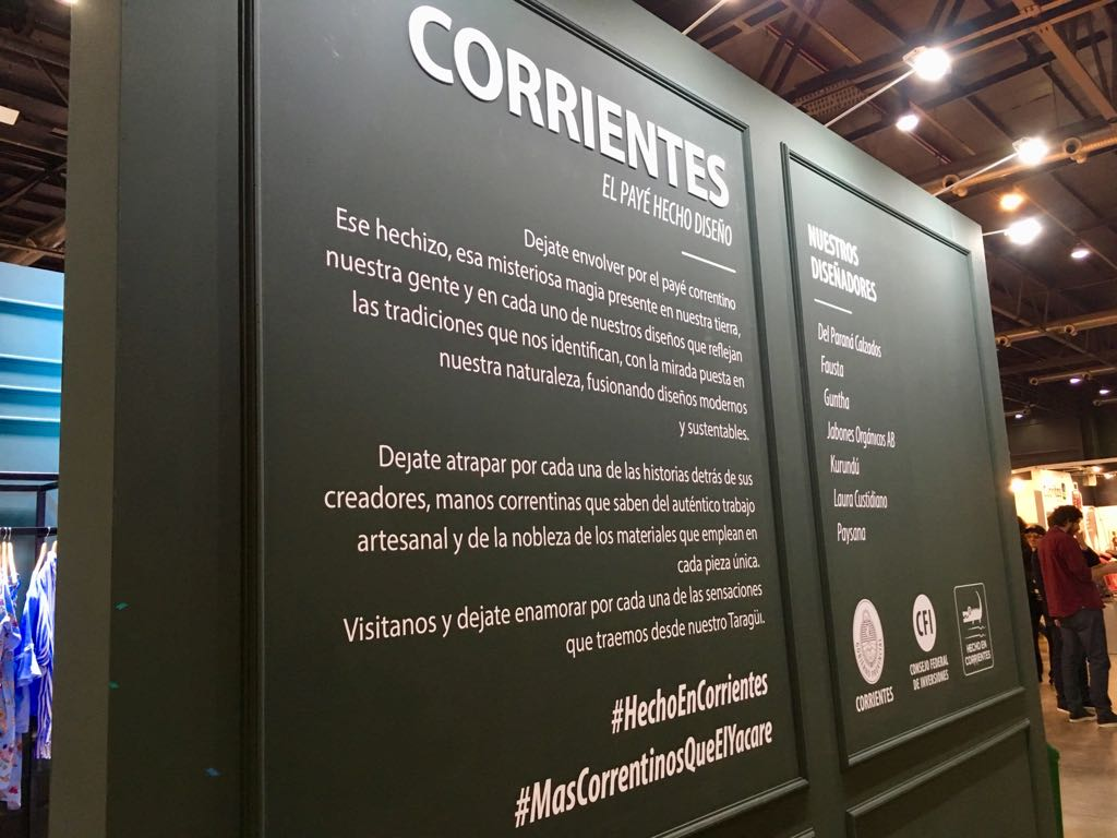La creatividad con marca Hecho en Corrientes llegó a Puro Diseño