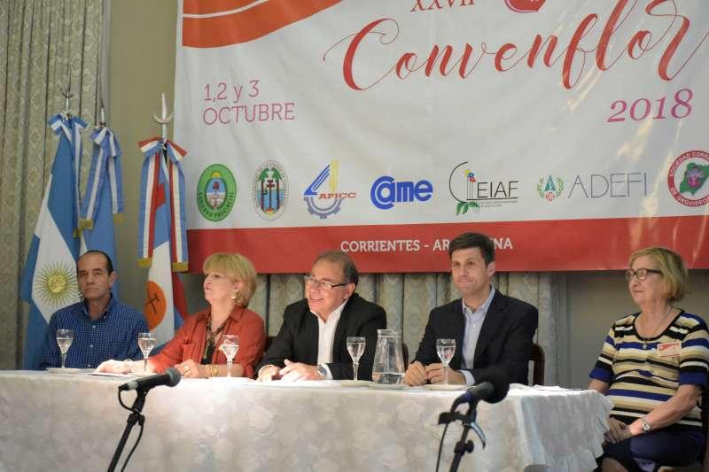 Corrientes congregó a destacados floristas de todo el país
