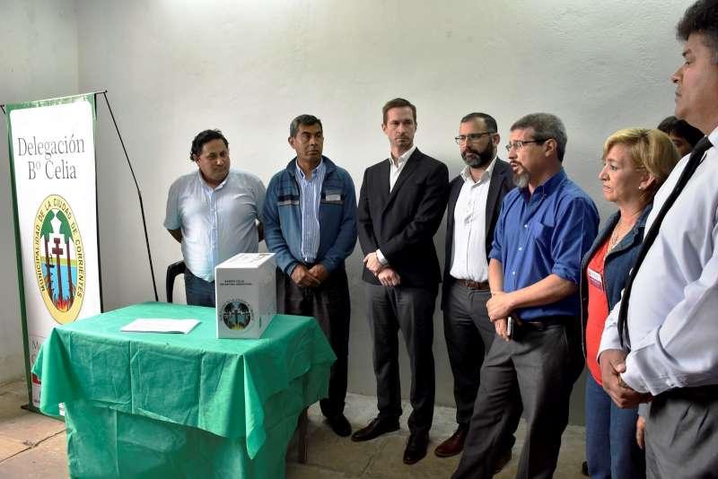 Barrios sin Drogas, habilitaron buzón de denuncias anónimas en el Celia