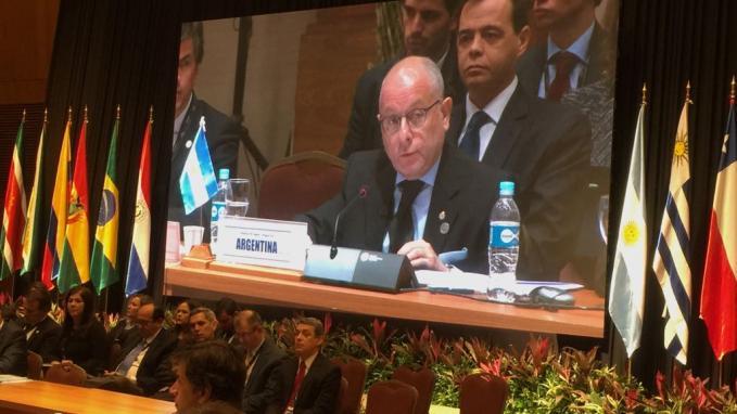 La Cancillería argentina intervino, tras el pedido efectuado por el gobernador Valdés
